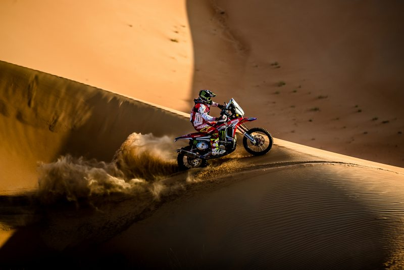 Paulo Gonçalves narrowly misses out on a podium place in Abu Dhabi