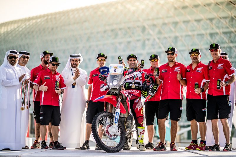 VIDEO: El Monster Energy Honda Team ha iniciado el Campeonato del Mundo con buen sabor de boca