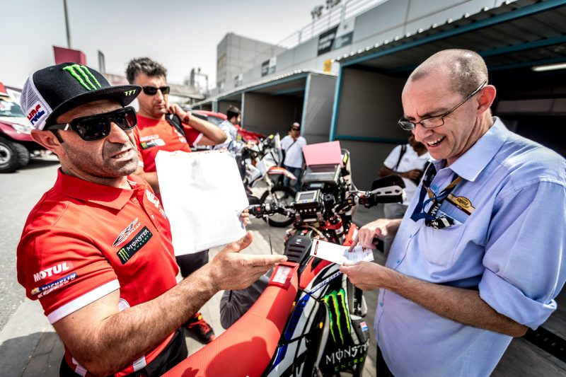 Important test for Monster Energy Honda Team in Qatar