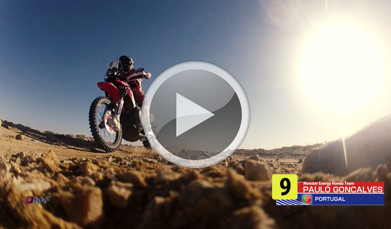VIDEO: Good performance by Monster Energy Honda Team in Qatar