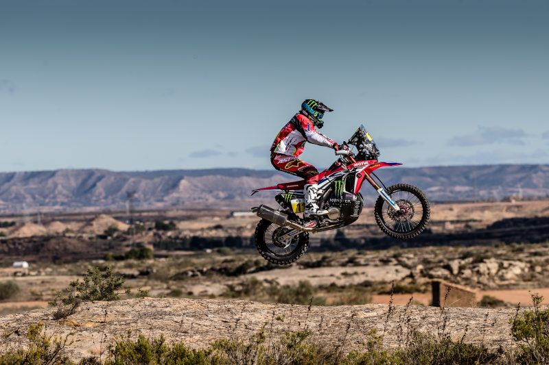 Monster Energy Honda Team returns to action at the Baja Aragón