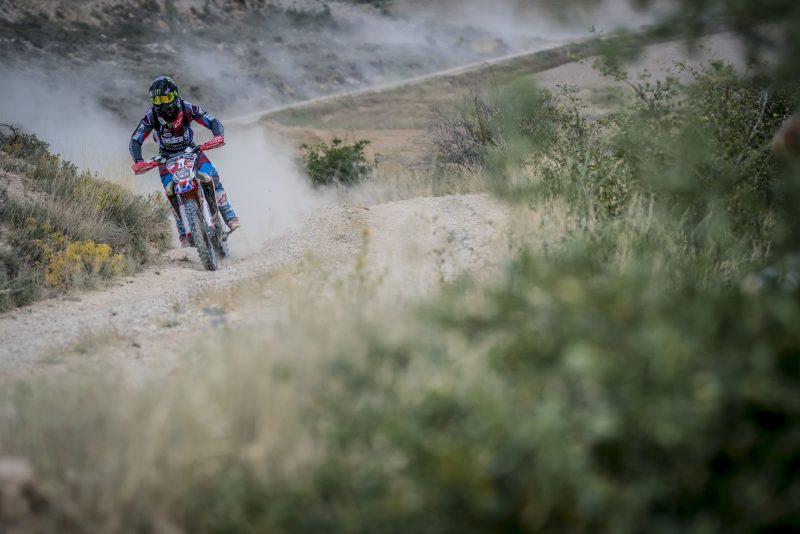 Barreda consolida el liderato a falta de la jornada final de la Baja Aragón