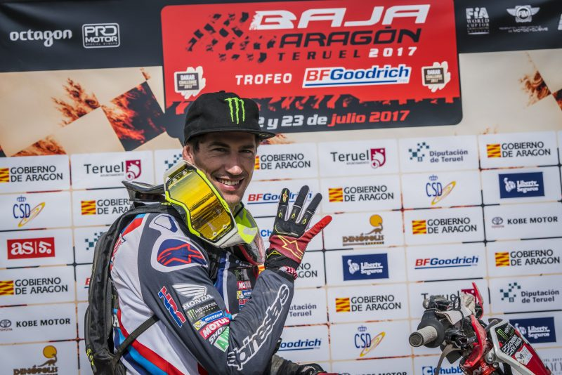 Joan Barreda wins the Baja Aragon 2017