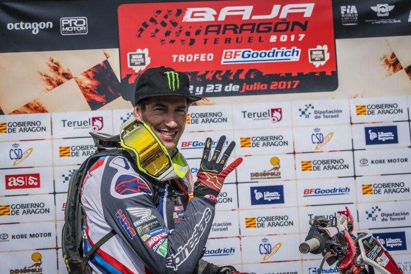 Joan Barreda gana la Baja Aragón 2017