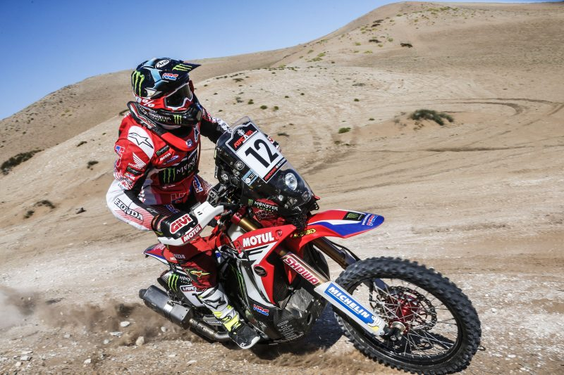 Atacama Rally: Kevin Benavides wins stage two