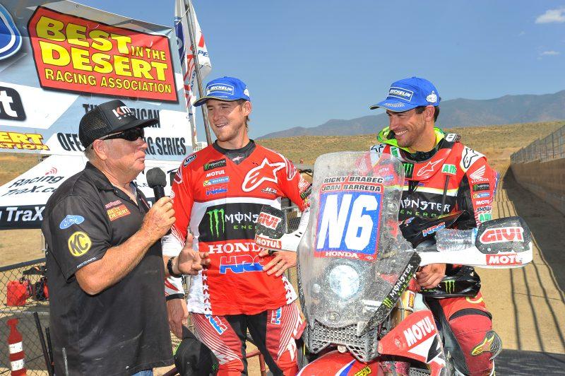 Barreda and Brabec clinch the 2017 Vegas-Reno