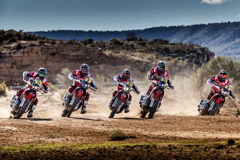 The action continues for the Monster Energy Honda Team on the other side of the Andes