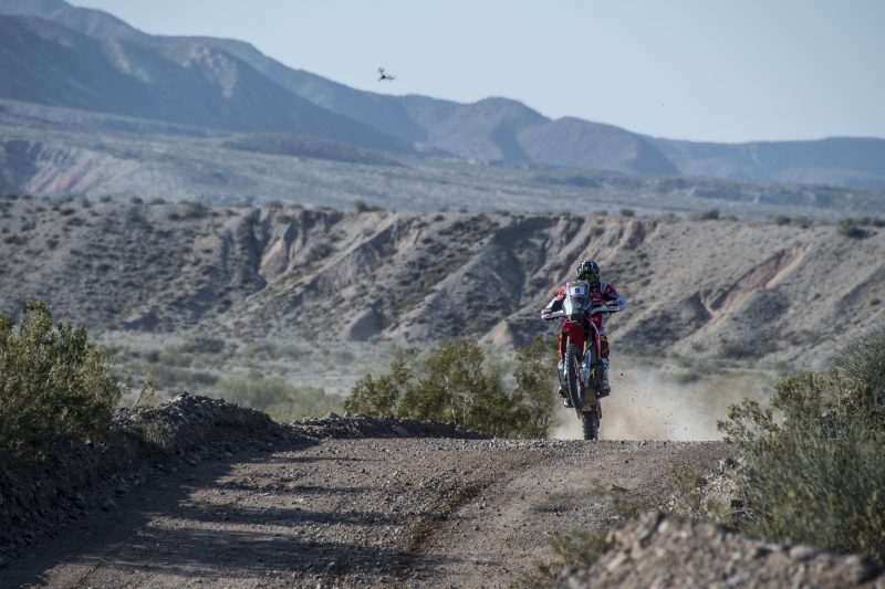 Monster Energy Honda Team complete a tough first stage at the Desafío Ruta 40