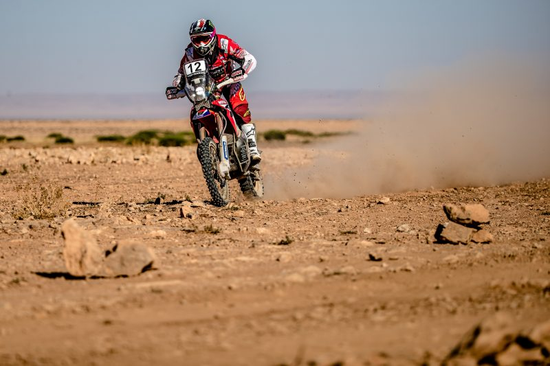 Benavides and Gonçalves, top five in the first real stage of Morocco Rally