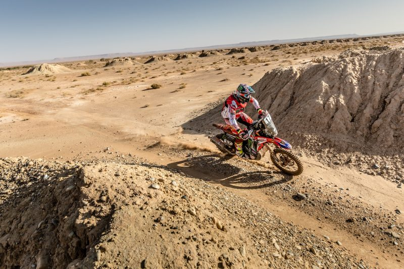 Monster Energy Honda Team rise above the setbacks in stage two and vow to improve in the marathon stage