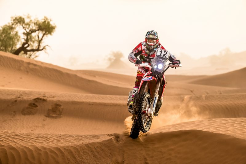 Monster Energy Honda Team will fight to the end for a win in the Morocco Rally