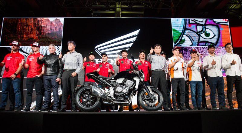 Monster Energy Honda Team joins the HRC teams in Milan