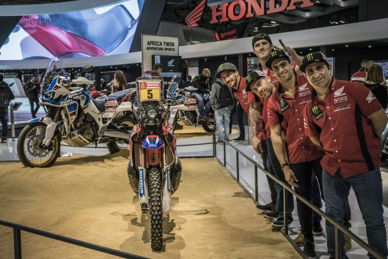 Monster Energy Honda Team at EICMA with the latest Honda innovations