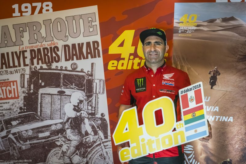 The 40th edition of the Dakar is expected to make the history books