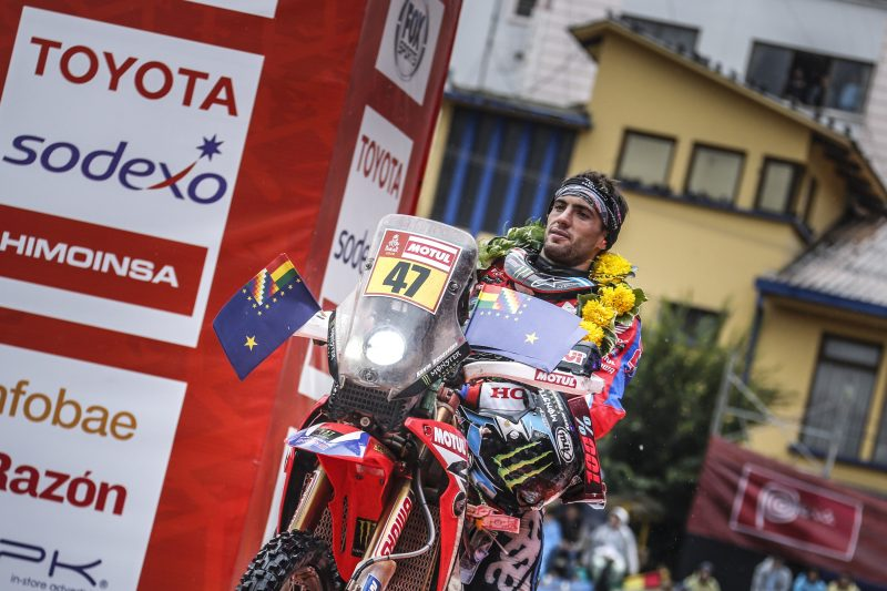 Kevin Benavides is the new leader of the 2018 Dakar Rally