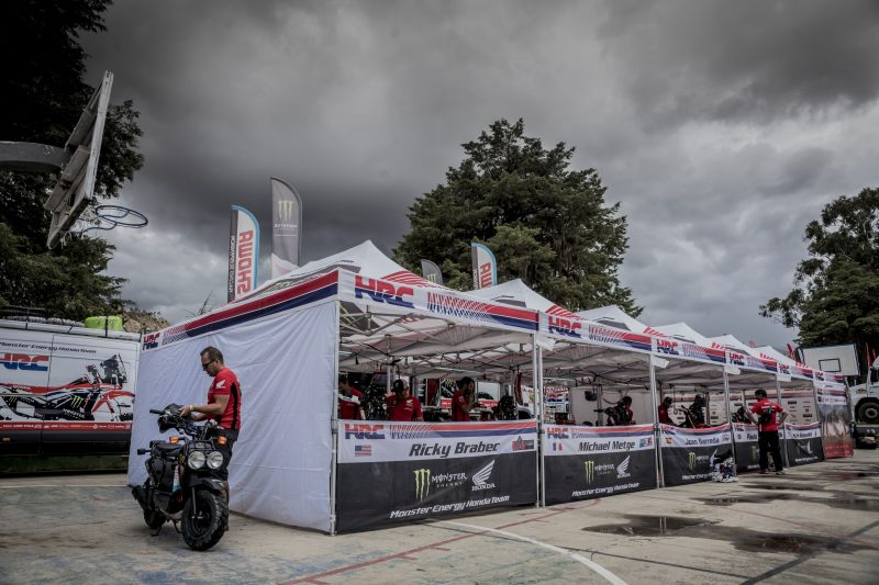 Dakar 2018: Rest day for the Monster Energy Honda Team riders