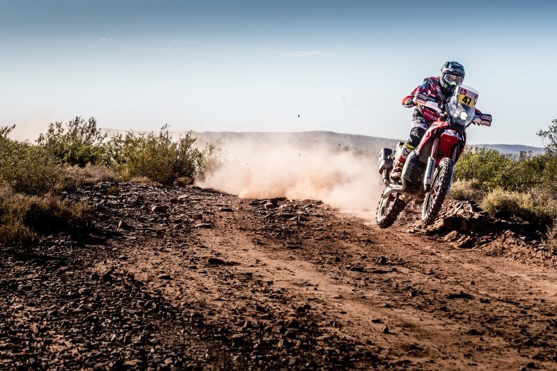 Kevin Benavides second in the penultimate stage of the 2018 Dakar