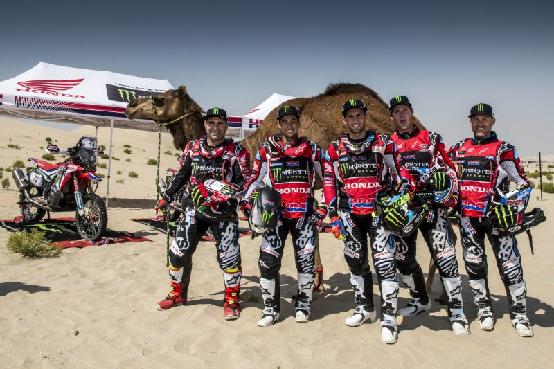 Monster Energy Honda Team kicks off the 2018 season in Abu Dhabi