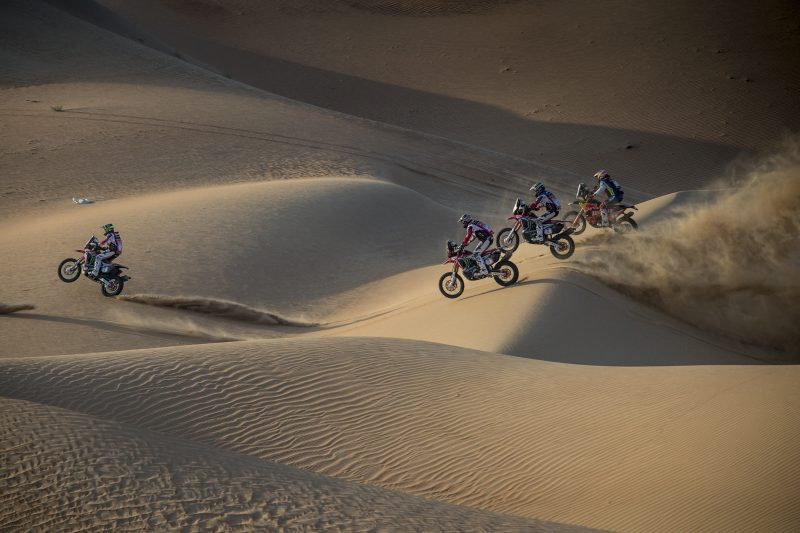 Final podium place for Kevin Benavides and the Monster Energy Honda Team in the Abu Dhabi Desert Challenge