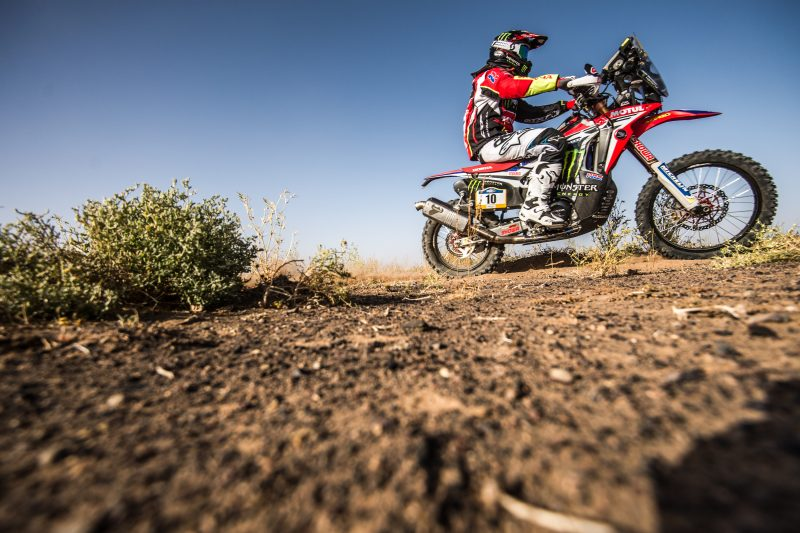 Great victory for Joan Barreda in the first stage of the Merzouga Rally