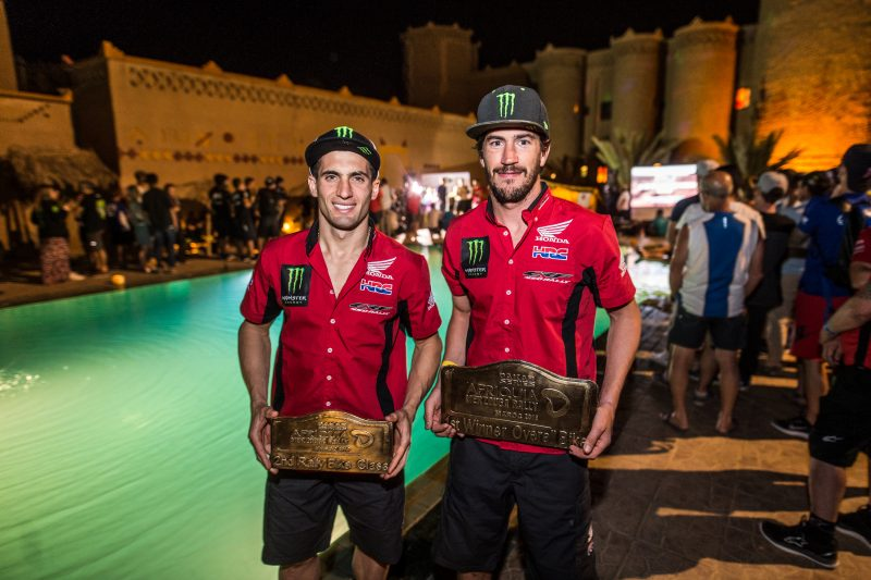 El Monster Energy Honda Team, dominador del Merzouga Rally