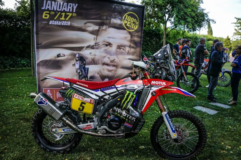 The 2019 Dakar Rally visits Barcelona