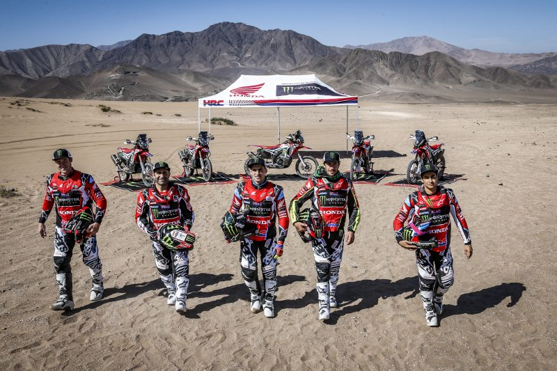 Ready to rumble in Copiapó. The Atacama Rally gets underway