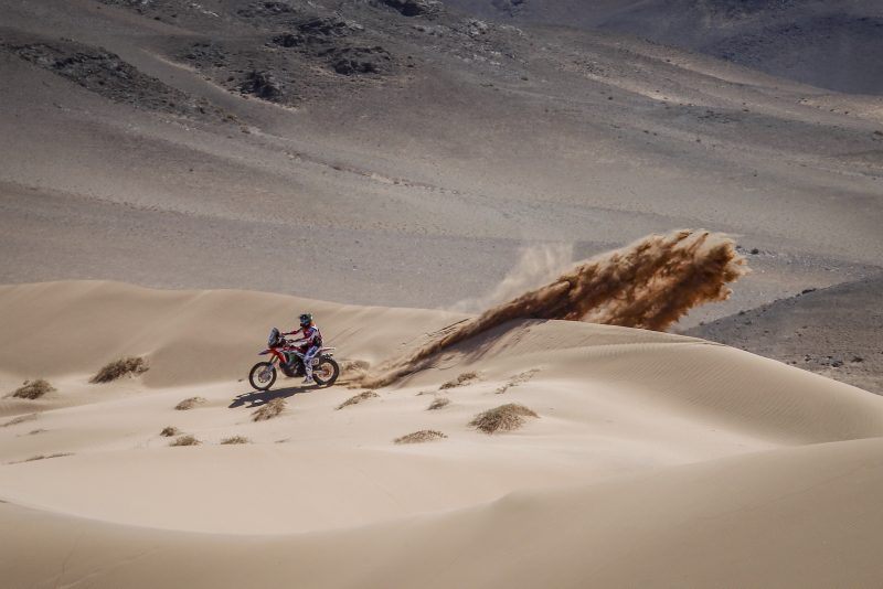 Kevin Benavides keeps the options open as the Atacama Rally hits the halfway point