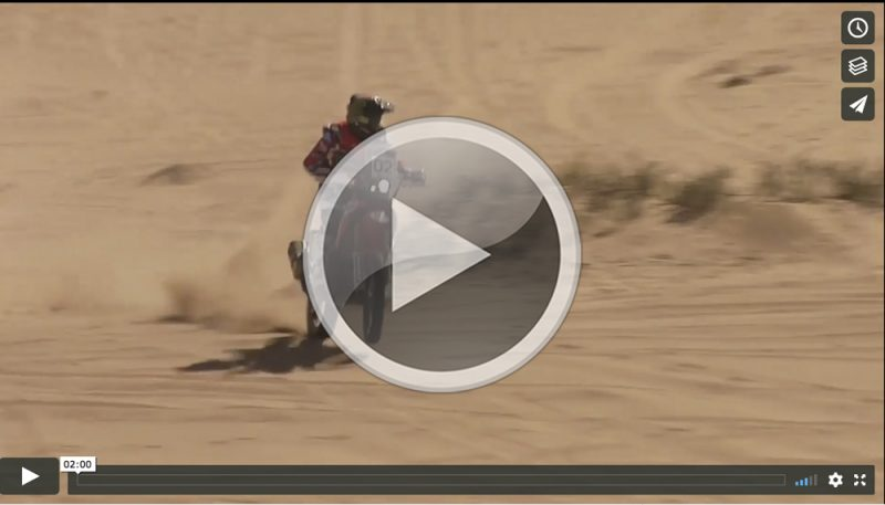 VIDEO: El Monster Energy Honda Team, camino de Argentina tras el éxito en el Atacama