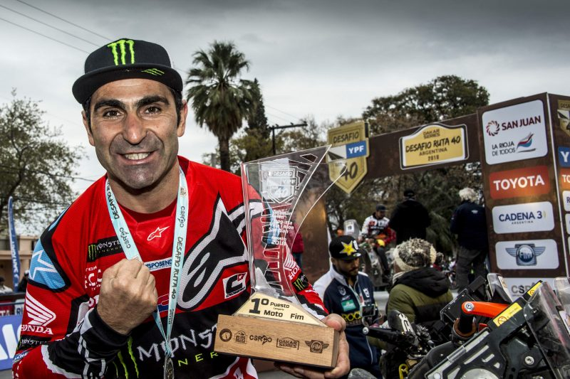 VIDEO: El Monster Energy Honda Team superó el Desafío