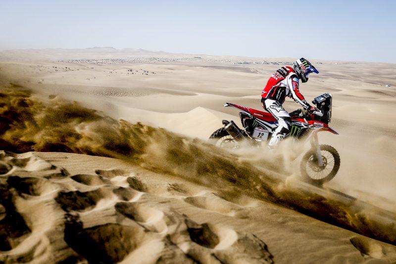 Cornejo, el mejor del Monster Energy Honda Team en la primera etapa del Desafío Inca