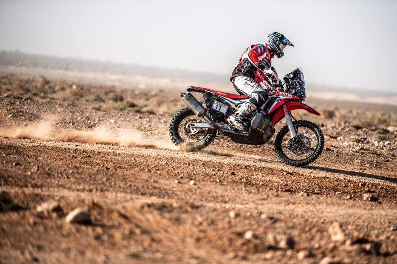 Brabec holds third place in the Morocco Rally after the first leg of the marathon stage