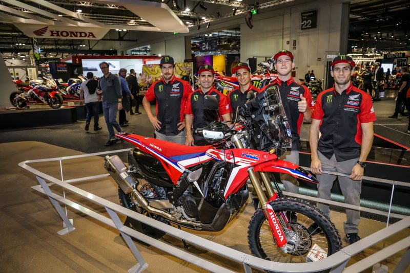 El Monster Energy Honda Team visita EICMA