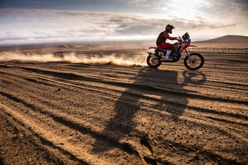 Ricky Brabec retakes the leadership of the Dakar