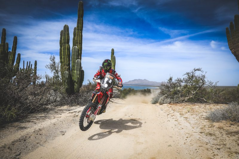 Ricky Brabec victorious in the Sonora Rally