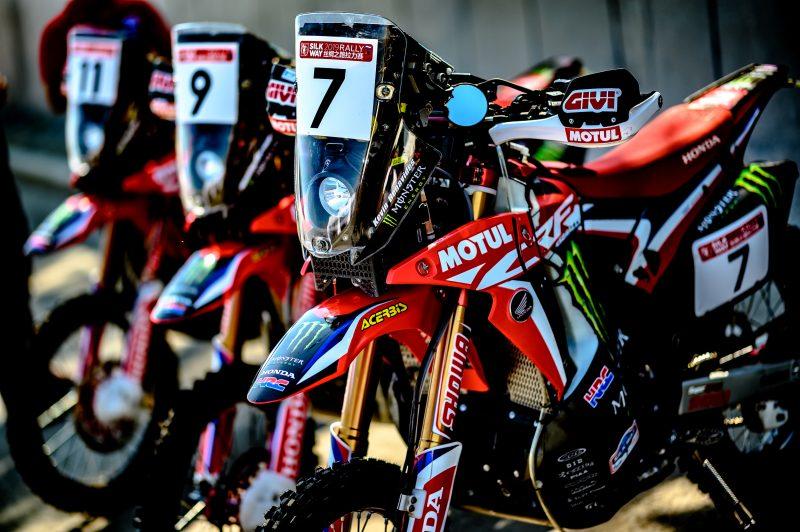 El Monster Energy Honda Team, preparados para una edición histórica del Silk Way Rally
