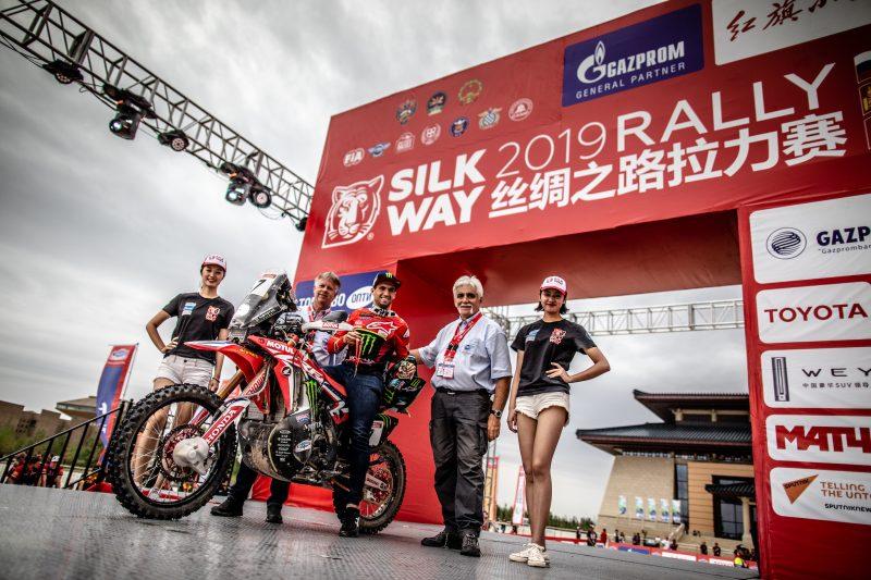 El Monster Energy Honda finaliza con buenas sensaciones el Silk Way Rally