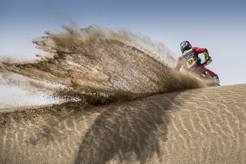 Monster Energy Honda Team all set to compete in the Atacama Rally with the full squad