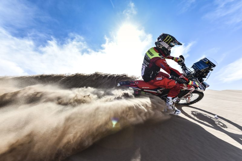Atacama Rally. Monster Energy Honda get the action underway in the Andes tomorrow