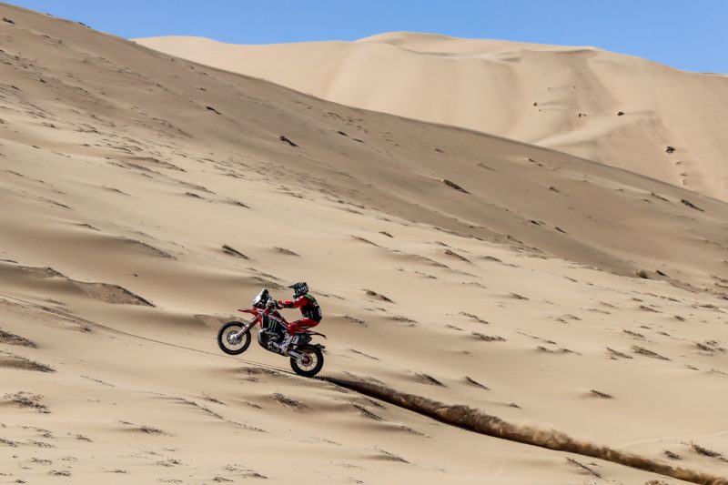 Monster Energy Honda get the Atacama Rally underway with fine results