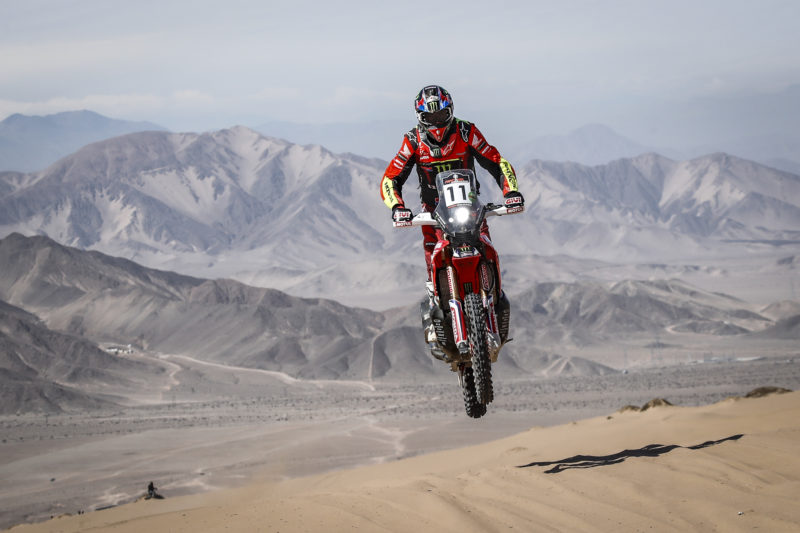Final podium for Joan Barreda in the Atacama Rally