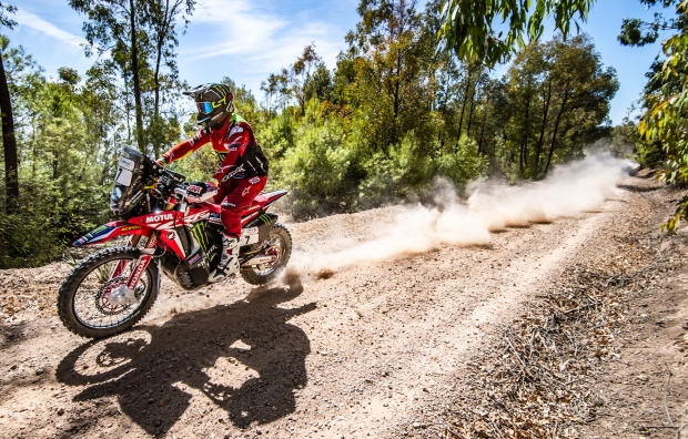 Kevin Benavides places among the front-runners in the Rallye du Maroc prologue