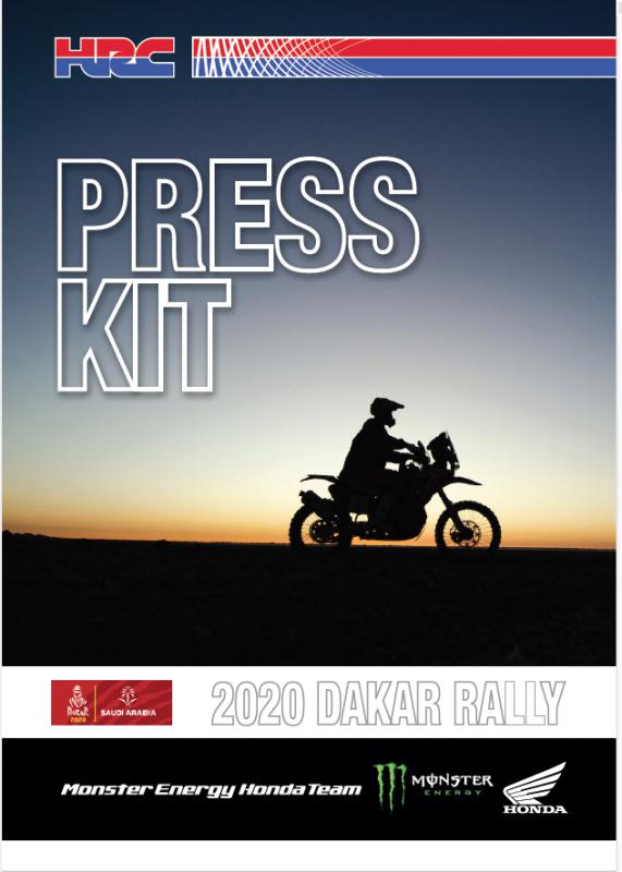 Press Kit Dakar 2020