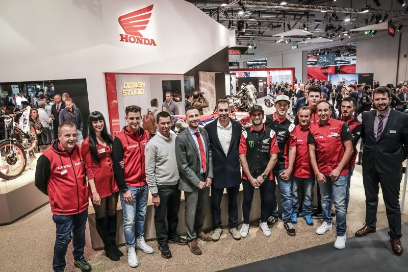 Benavides and Brabec at EICMA