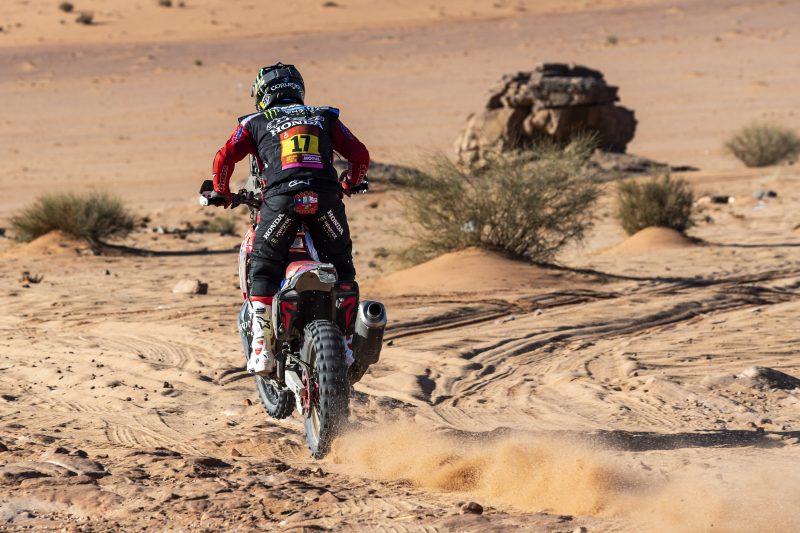 El Monster Energy Honda Team, líder del Dakar. Podio de la carrera para los pilotos Honda