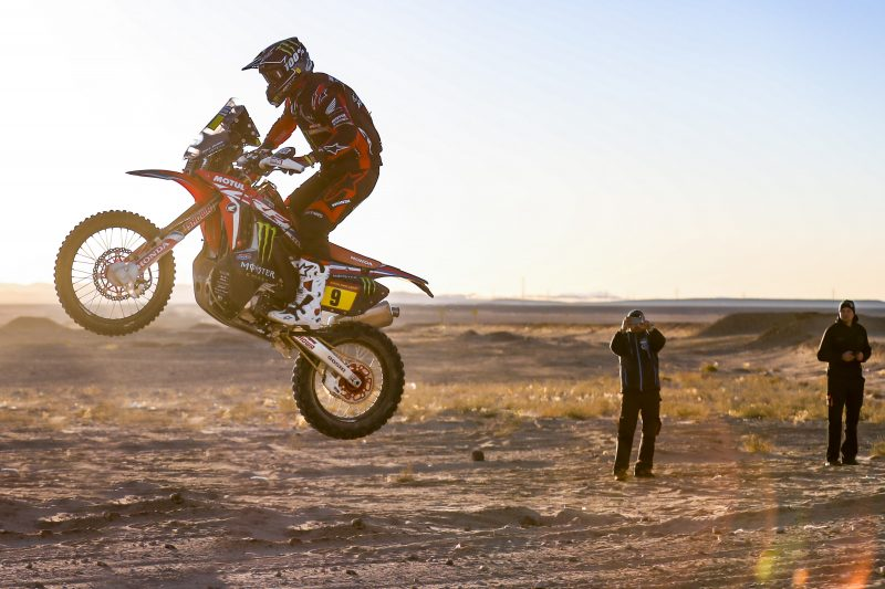 First Dakar stage win for Nacho Cornejo. Brabec remains leader