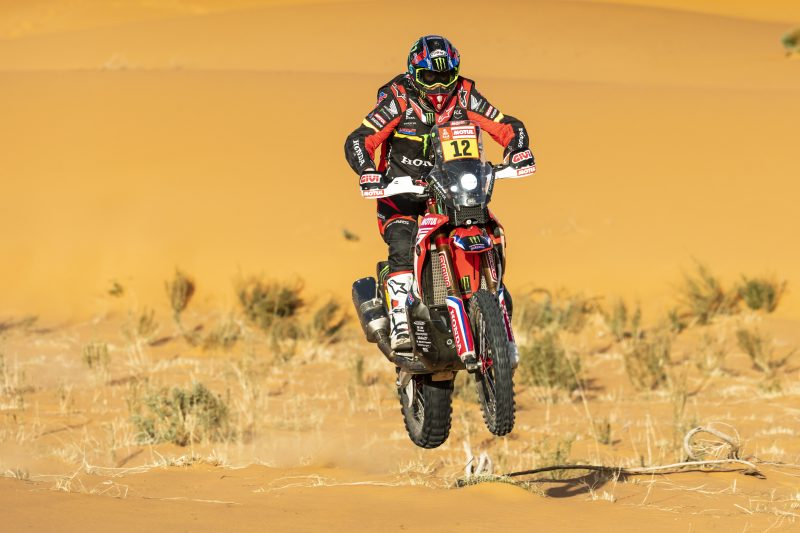 Ricky Brabec arrives at the rest day leader of the 2020 Dakar after claiming a second stage win. Barreda and Cornejo in the top five