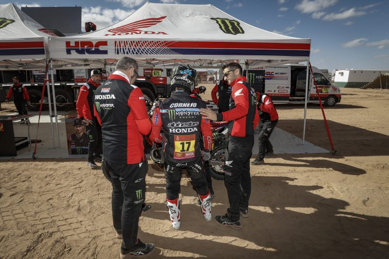 Monster Energy Honda Team set to build on the fine work done as the Dakar heads into its second week