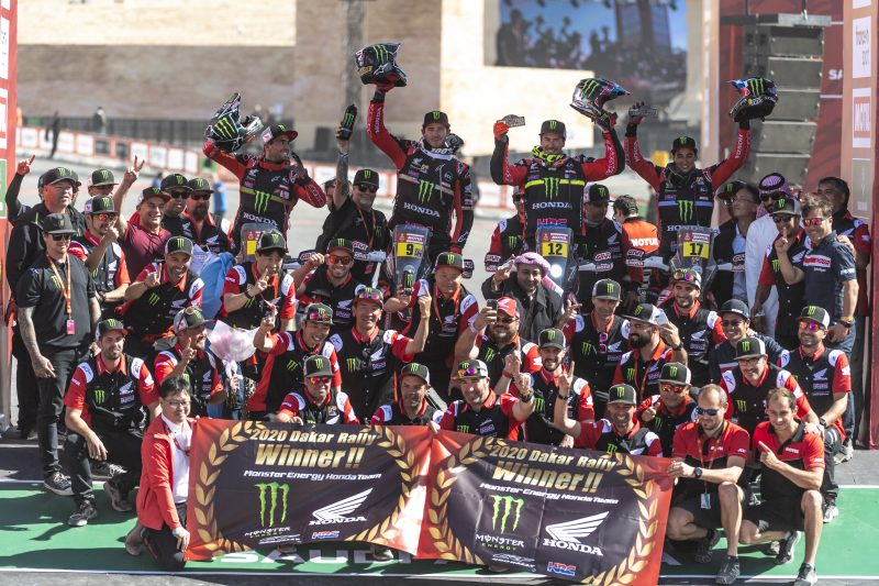 Historic victory for Ricky Brabec and Honda at the Dakar 2020