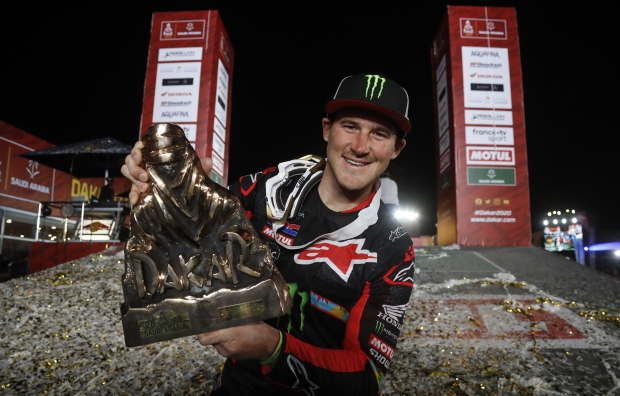 New video: Ricky Brabec, Honda and the Dakar Rally 2020